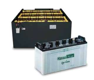 GS YUASA TRACTION BATTERY for forklifts etc