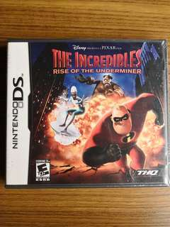 Nintendo DS The Incredibles: Rise Of The Underminer