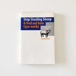 Stop Stealing Sheep By Eric Spiekermann