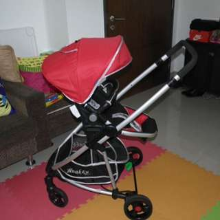 *PRELOVED* Baby Stroller with car seat