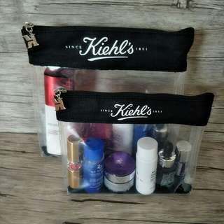 🆕 Kiehl's transparent makeup bag