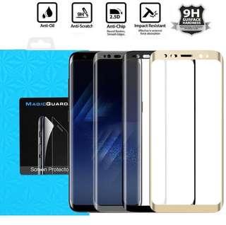Galaxy S8 S8+ 全屏覆蓋 3D玻璃貼 9H鋼化膜 曲面 弧面 Plus Glass Samsung 三星