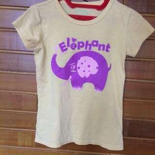 (50k/2pcs) Tshirt for Girls by Giordano