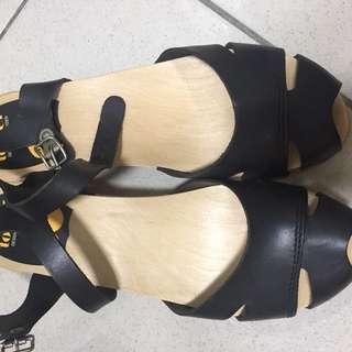 Swedish Hasbeens 歐美木屐涼鞋