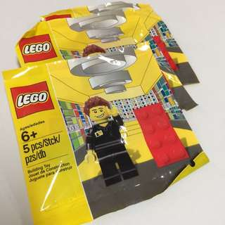 LEGO EXCLUSIVE: COLLECTIBLE LEGO EMPLOYEE MINIFIGURE POLYBAG