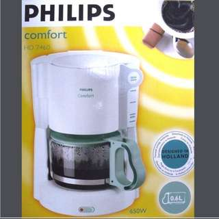 新型號飛利浦小康之家咖啡機 Philips Comfort Coffee Machine