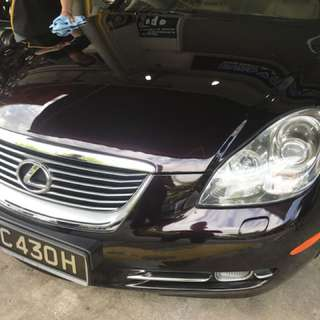 Lexus SC430 9H Glass Coating Service