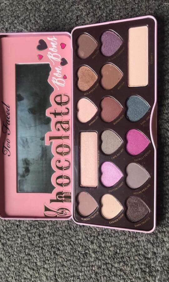 2 faced palette