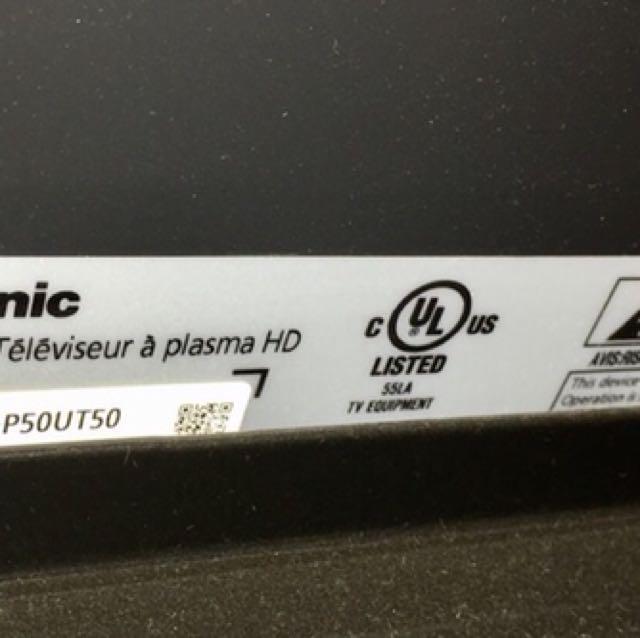 """50"""" 3D TV"""