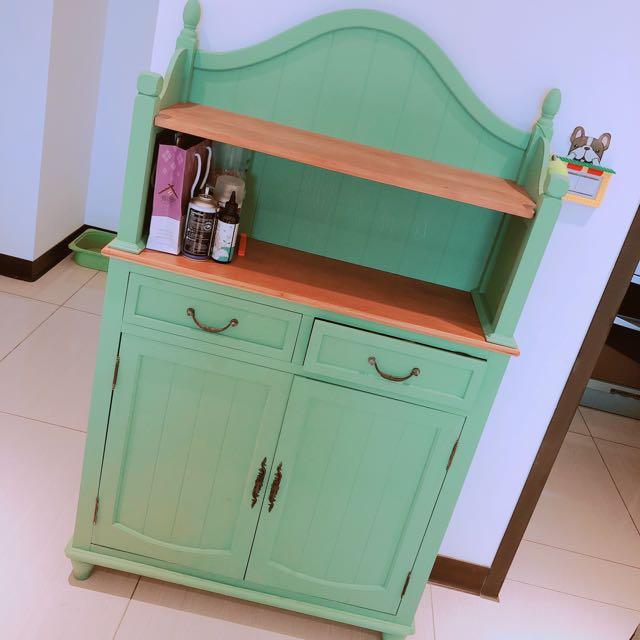 綠色工業風廚具櫃🍴