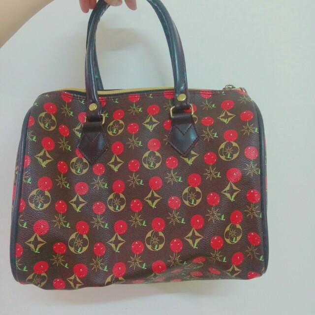 櫻桃手提包