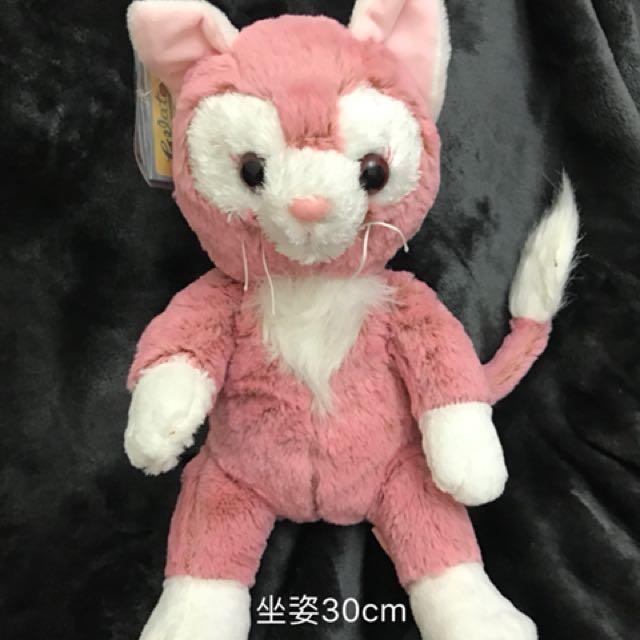 畫家貓 達菲 史黛拉 娃娃 玩偶