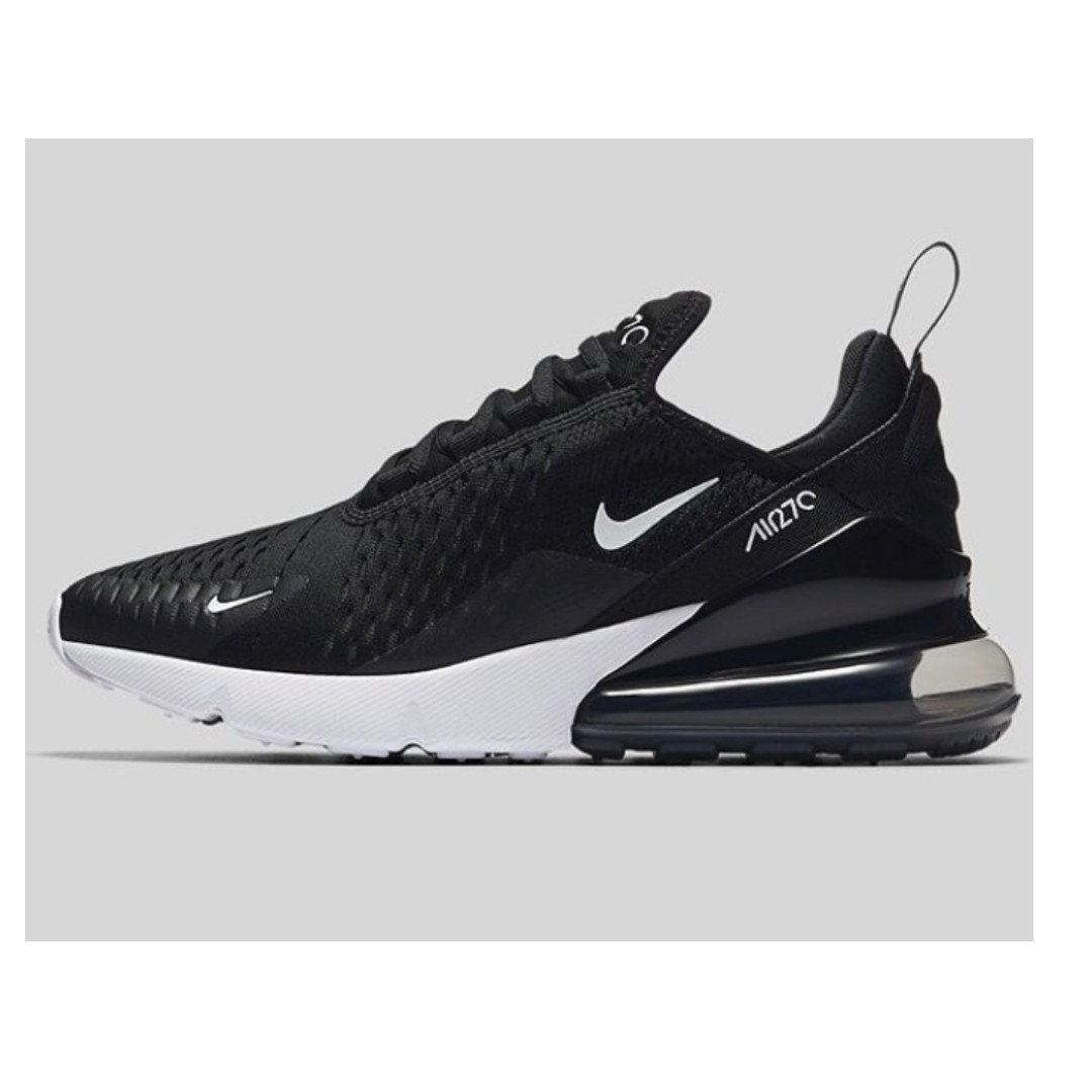 "watch 6c1a5 6949b 英國代購  Nike WMNS Air Max 270 ""Black White"", Women s Fashion, Women s Shoes  on Carousell"