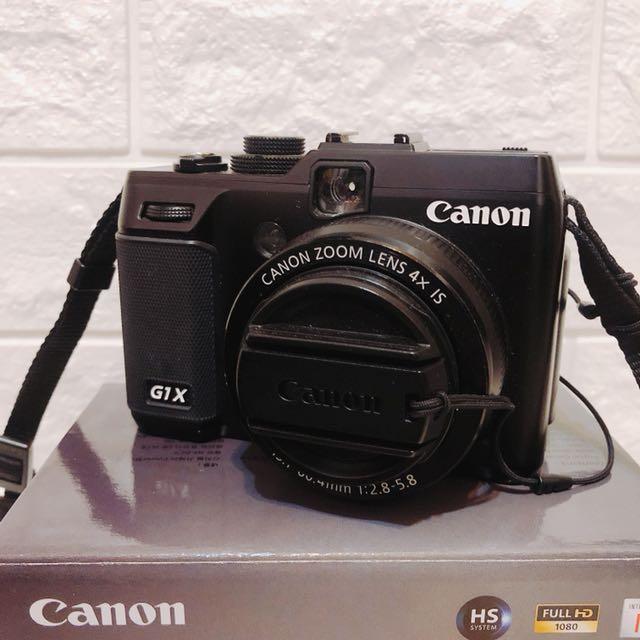 九成新 Canon PowerShot G1X 類單眼相機