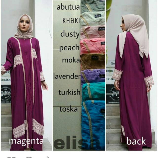 Abaya dress gamis daster