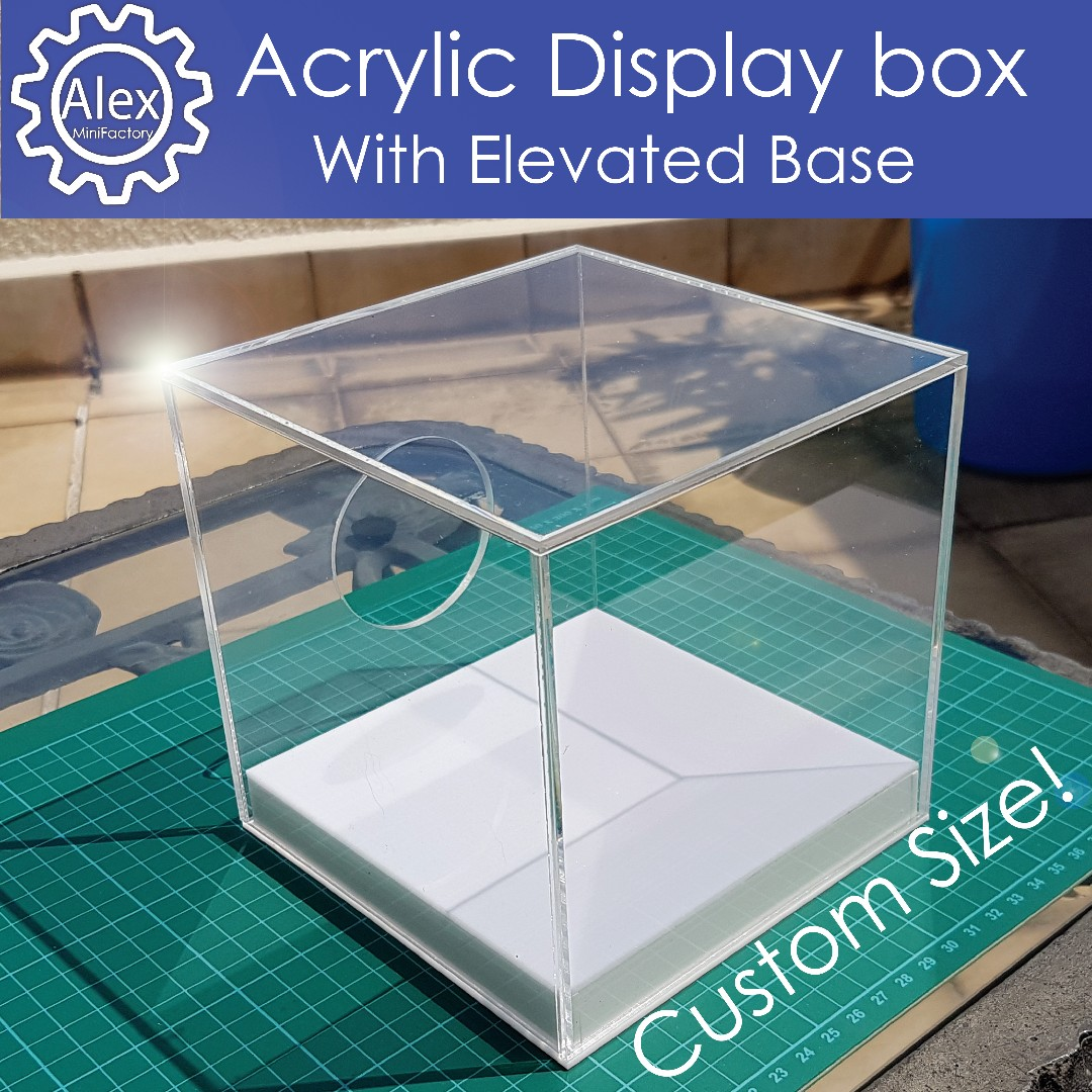 Customised Display Box - Acrylic boxes in any size