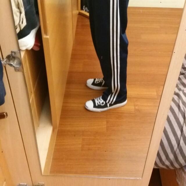 Adidas三線深藍