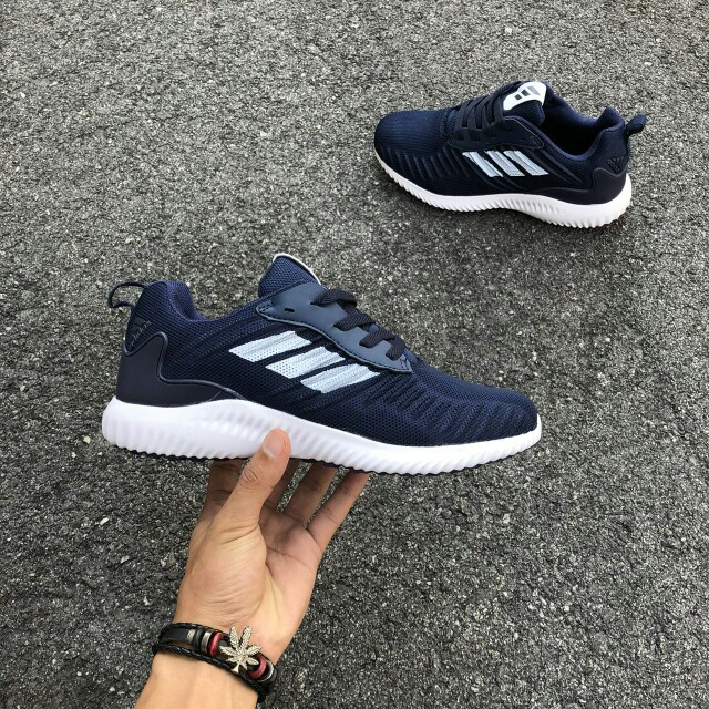 top fashion cf9ef 85c95 FREE POS😍Adidas Alphabounce RC Navy, Mens Fashion, Footwear, Sneakers on  Carousell