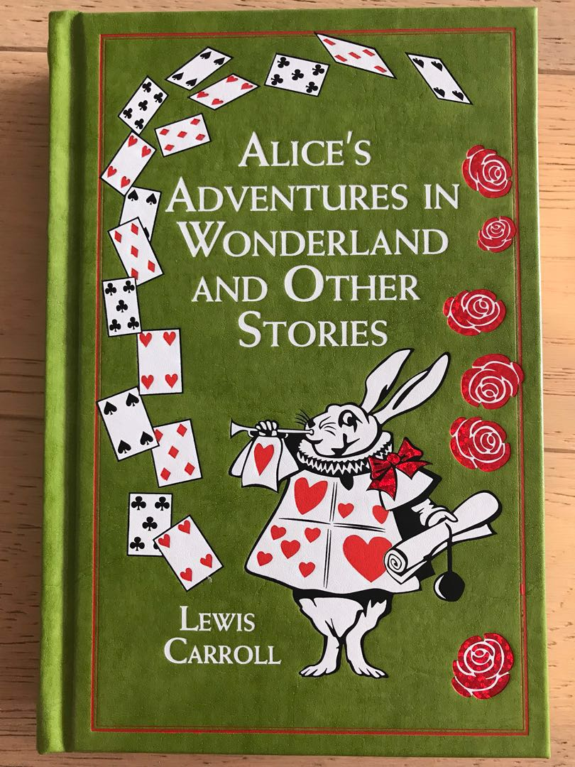 Alice adventures in Wonderland Classic Story book FREE SHIPPING