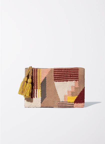 Aritzia - Wilfred Mod Tapestry Pouch