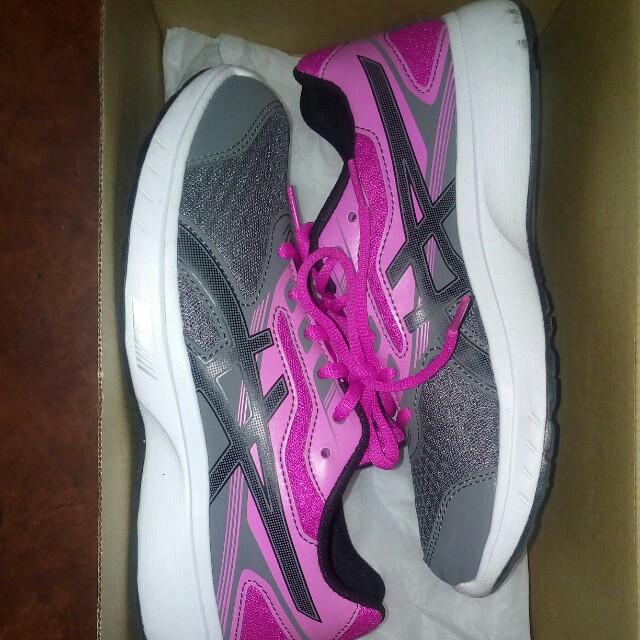 ASICS rubber/ running shoes