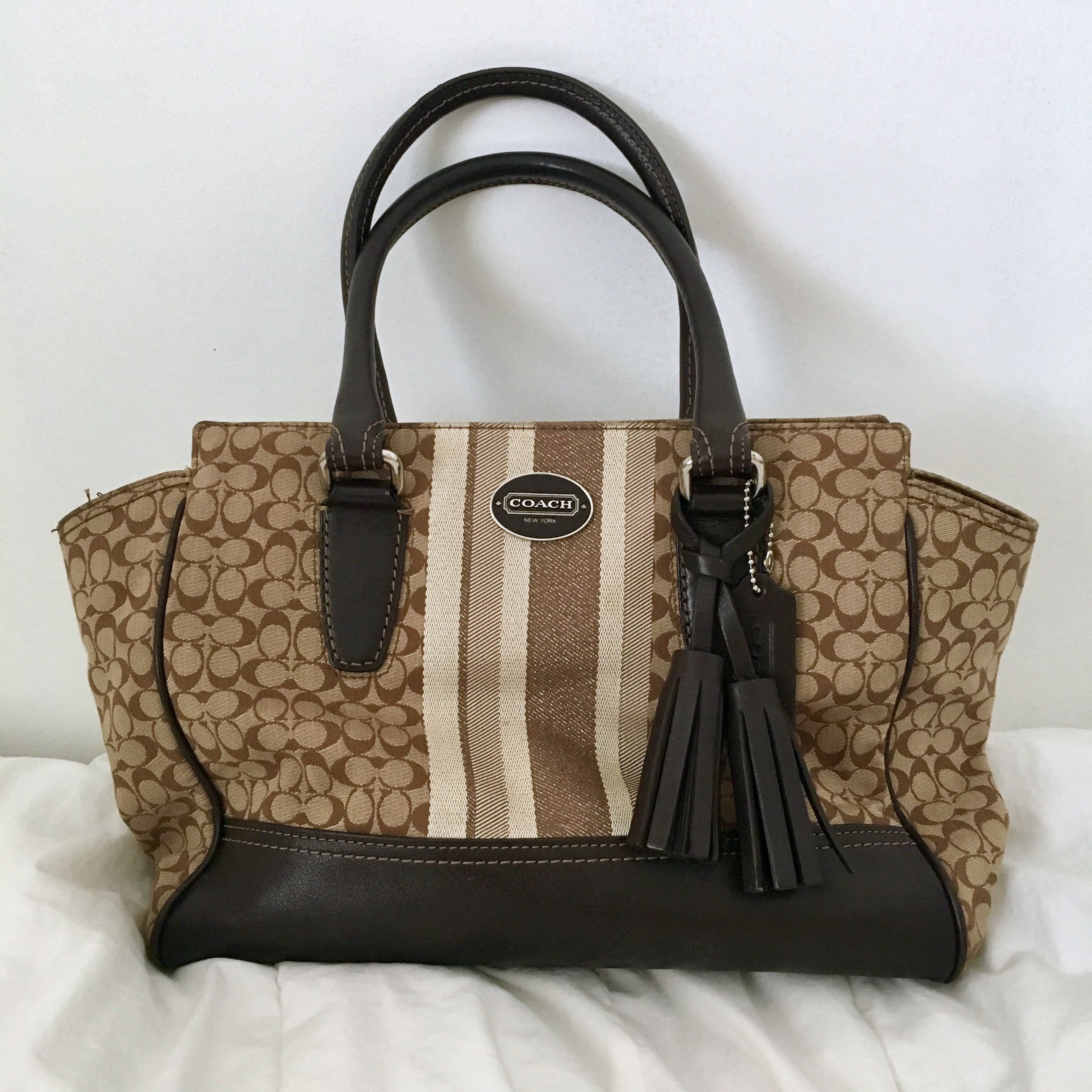 where can i buy coach legacy signature candace carryall