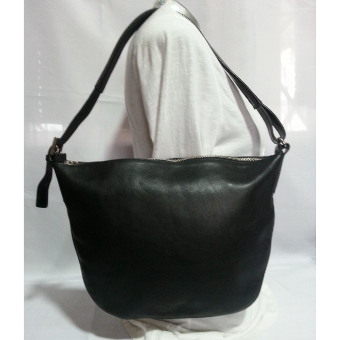 Authentic FURLA Leather Hobo Bag