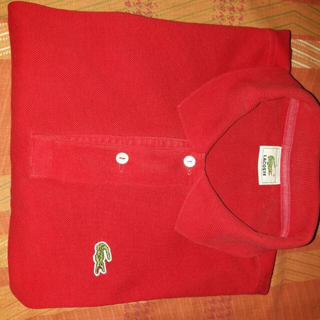 Authentic Lacoste pique shirt