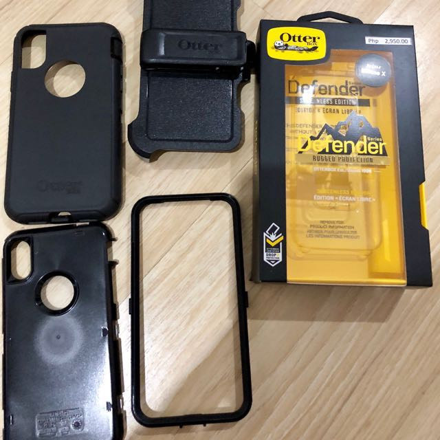 Authentic Otter Box  for iPhoneX