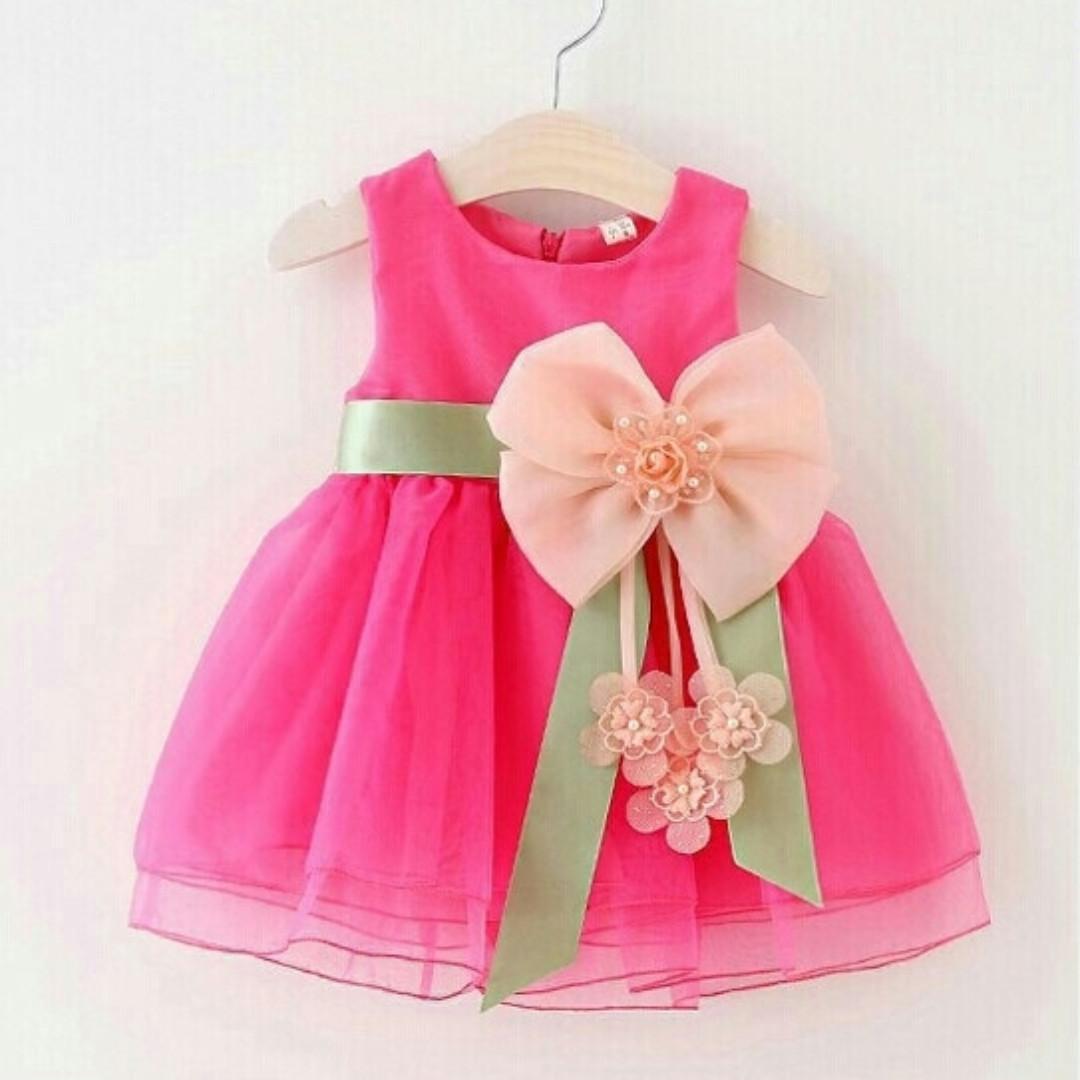 Baju Pesta Bayi Perempuan Dress Gaun Pesta Anak Bayi Women S