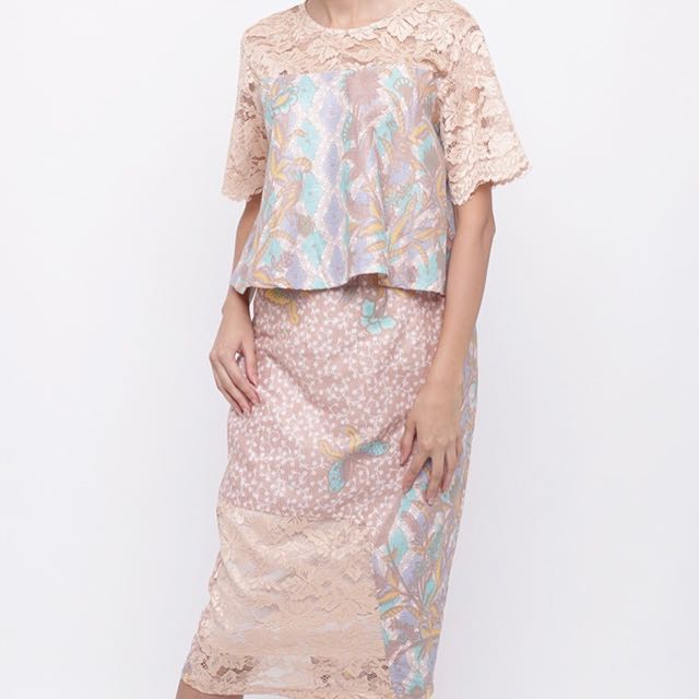Batik set top dan rok