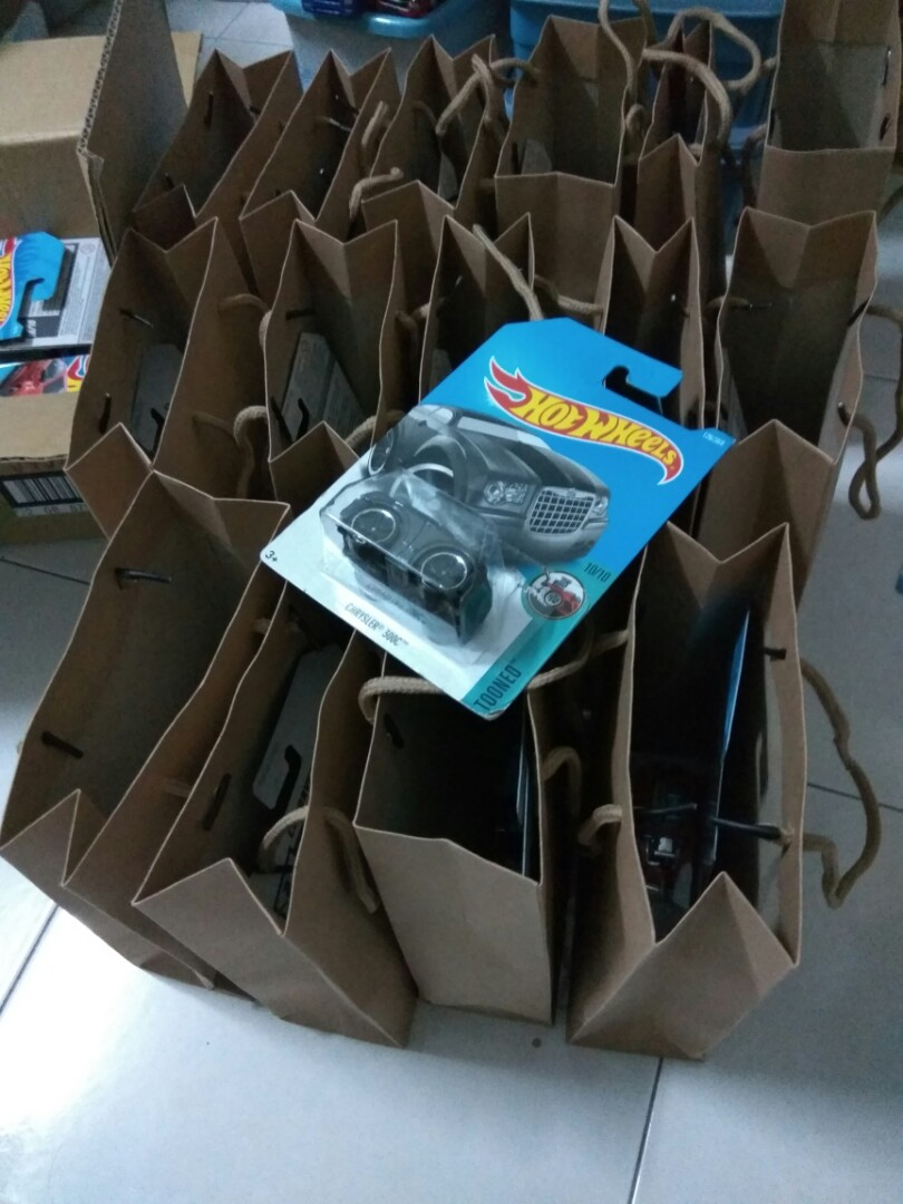 Birthday Gift Bags Hotwheels On Carousell