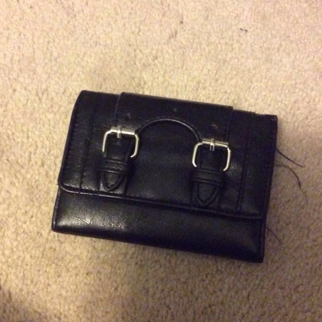 Black wallet markdown!!!x2