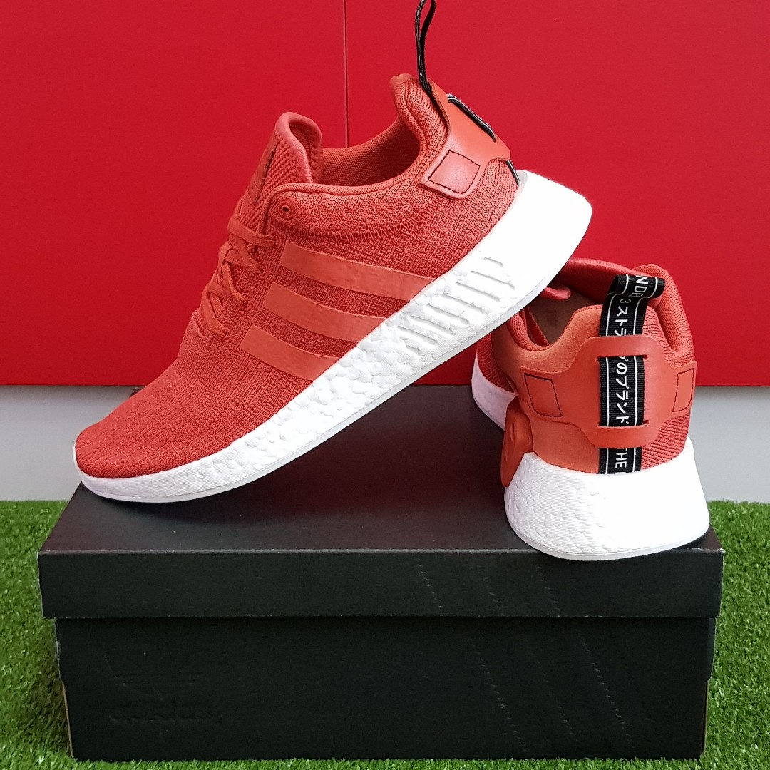 c1823c345c92 BN Authentic Adidas NMD R2 BY9915 Orange from Japan