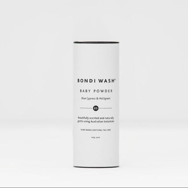 澳洲品牌BONDI WASH藍絲柏&苦橙葉寶寶爽身粉