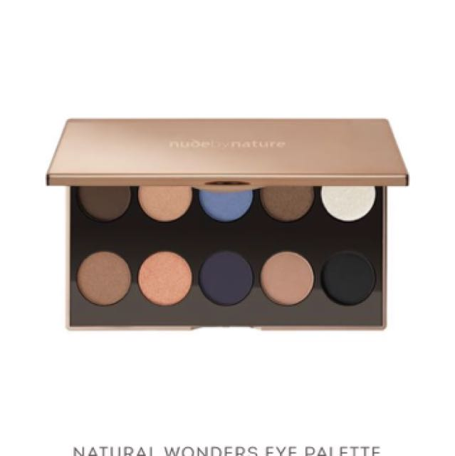 Brand new eye palette: nude by nature