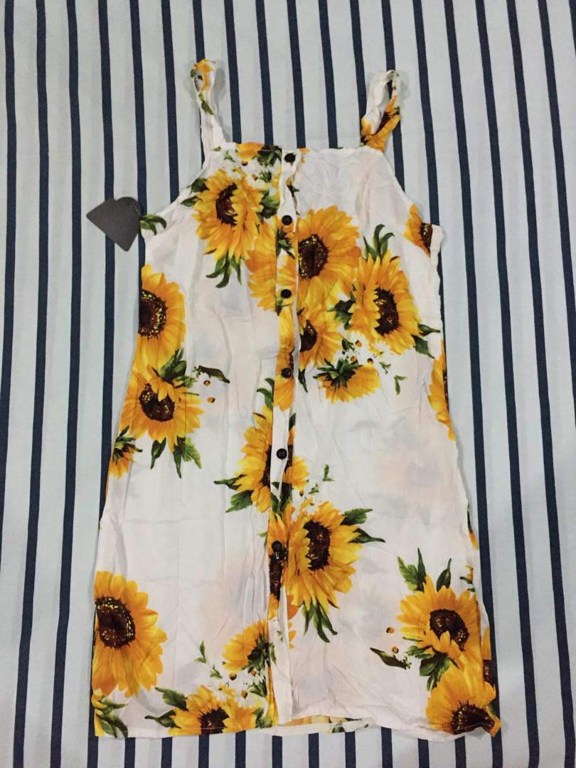Brand New Sunflower Summer Dress