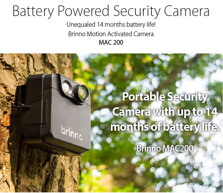 Battery Operated Security Camera >> Brinno Outdoor Portable Battery Operated Cctv Camera Electronics