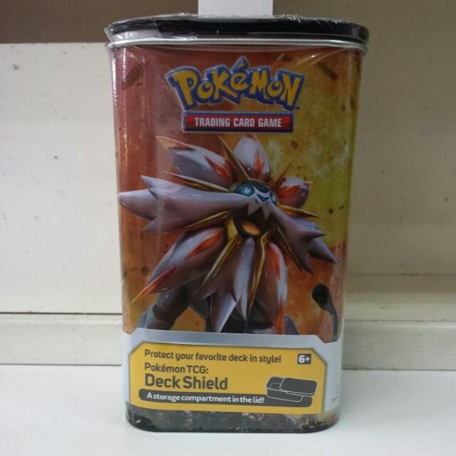 (Buy 1 free 1) Pokemon Sun & Moon Deck Shield