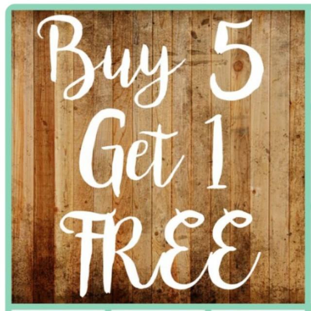 Buy 5 ** FREE  1