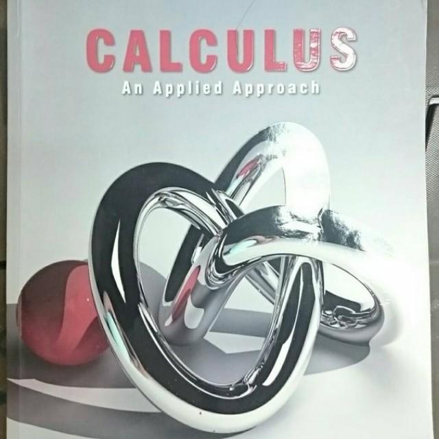 CALCULUS: AN APPLIED APPROACH  LARSON商用數學微積分#出清課本
