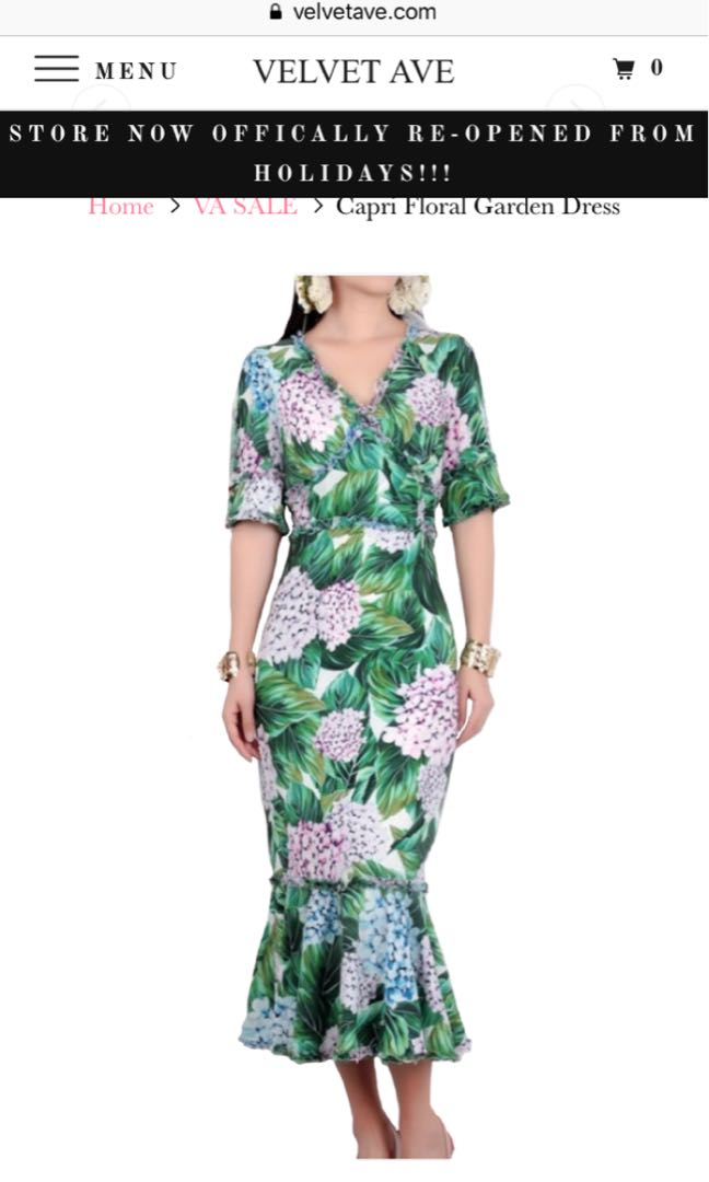 Capri garden dress