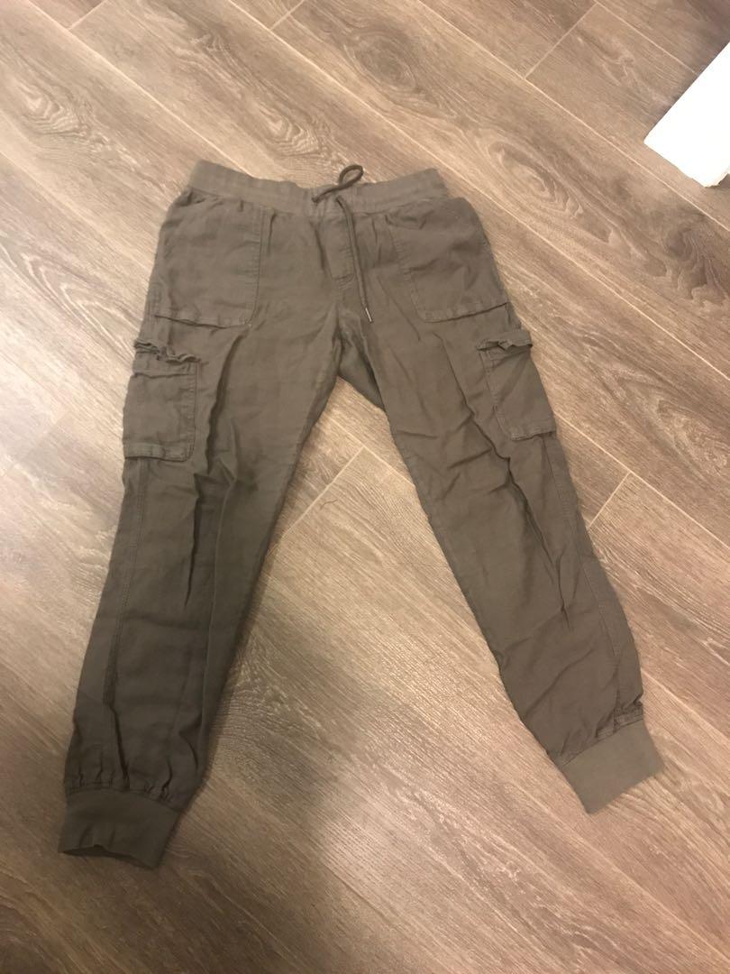 Cebu Aritzia Olive Cargo Pants