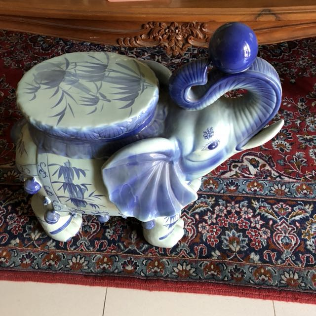 Ceramic Elephant stool for sale