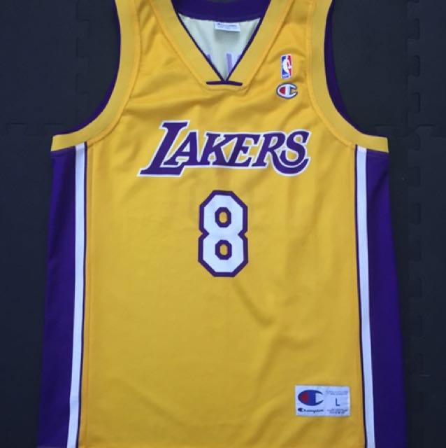 817f465d594f Vintage Champion NBA jersey (Europe edition)   Kobe Bryant   Lakers ...