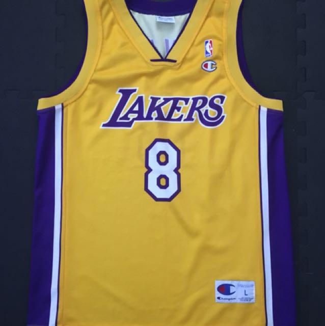 7655b82a22f Vintage Champion NBA jersey (Europe edition) / Kobe Bryant / Lakers ...
