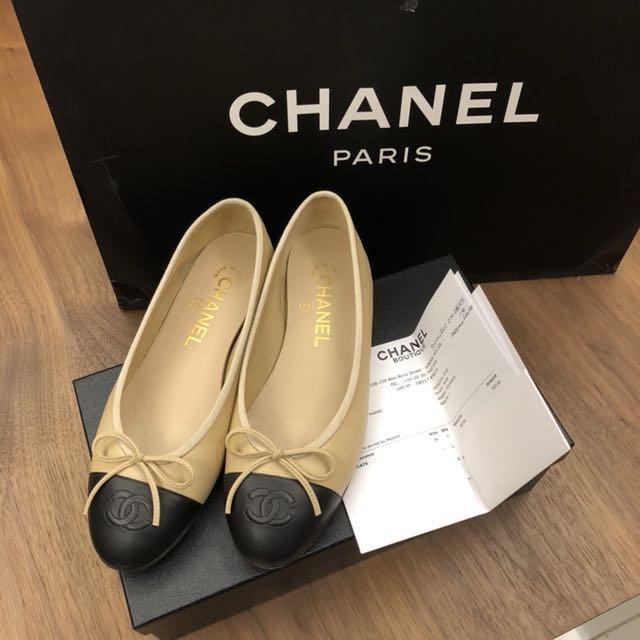 Chanel classic ballerinas flats a6d0d76f32