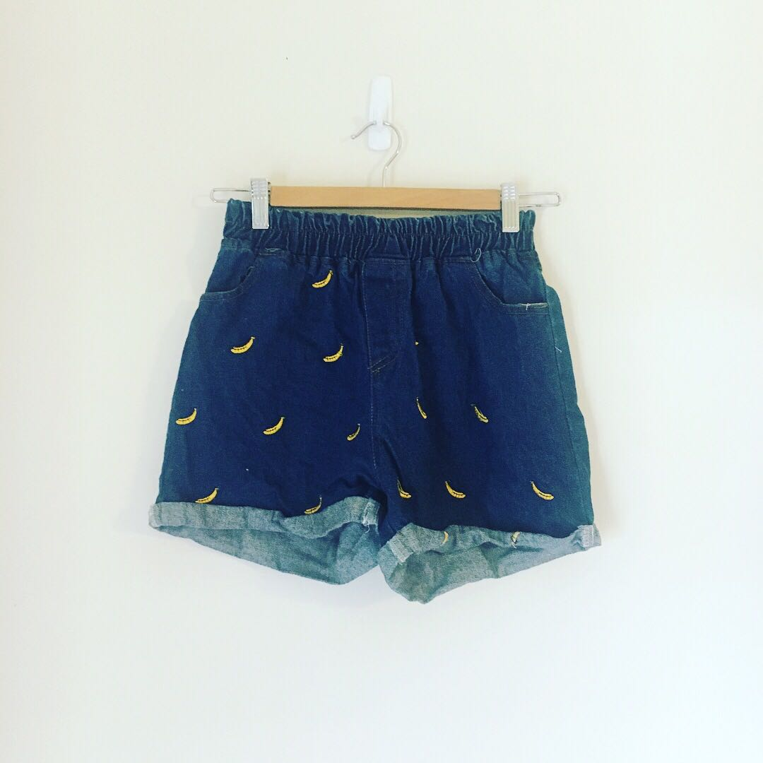 Cutest Blue Denim Shorts