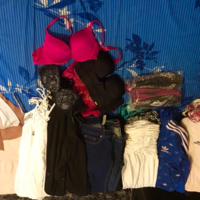 Decluttering soon - Assorted clothes