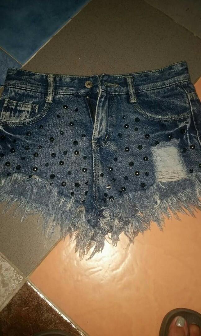 Denim shorts,high waisted shorts
